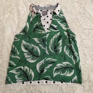 Panama Style Sleeveless Top by Anthropologie